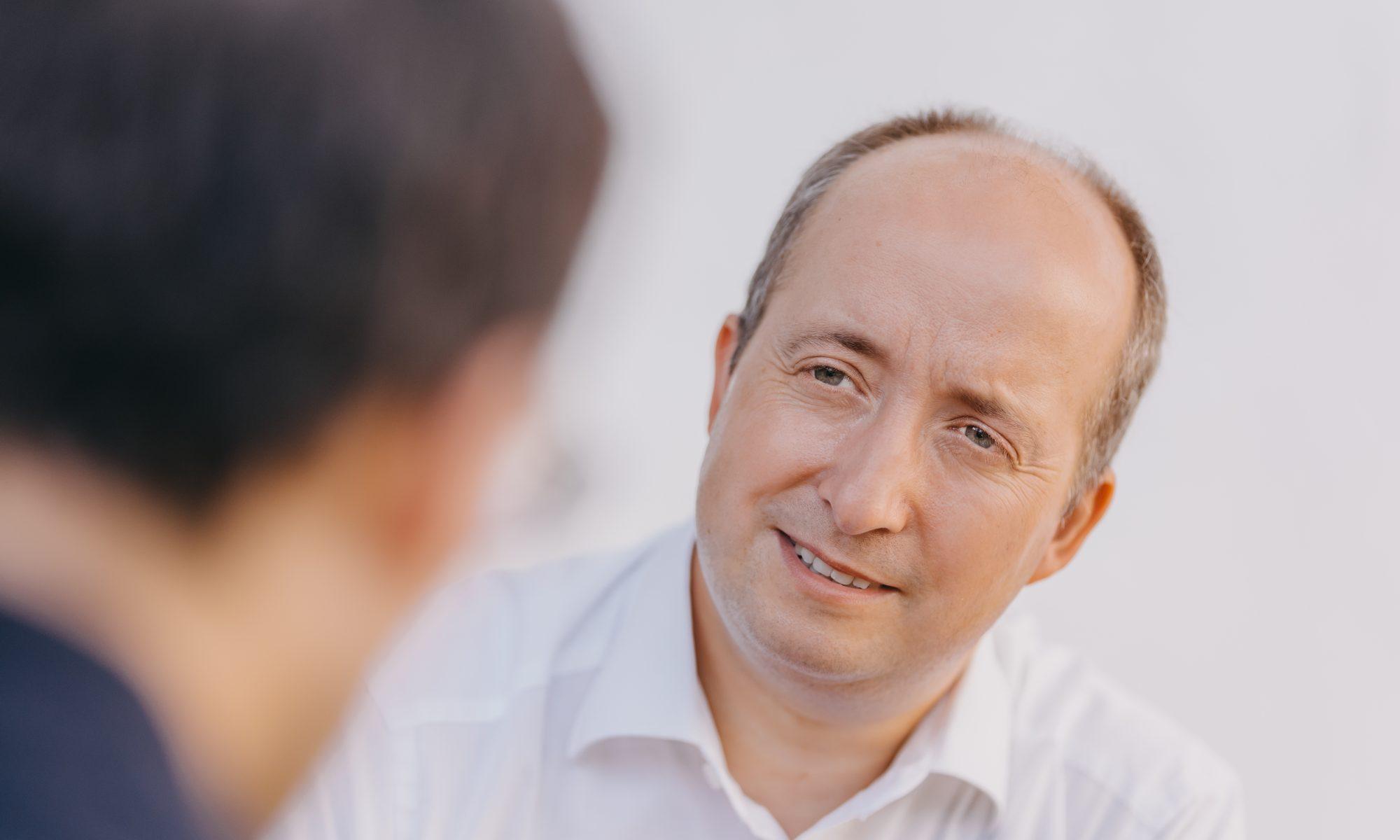 Markus Wolf im Gespräch