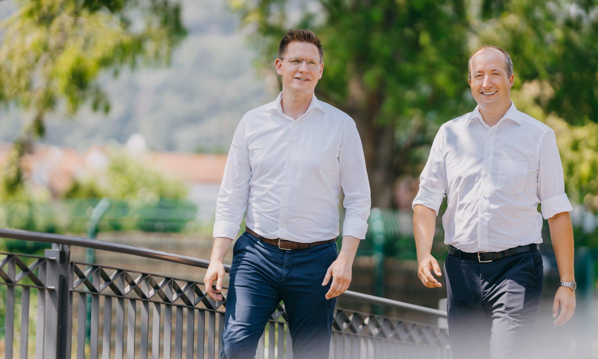 Markus Wolf und Johannes Steiniger